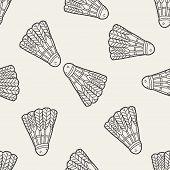 Постер, плакат: Doodle Badminton