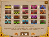 foto of coin slot  - Info screen for slots game - JPG