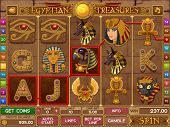 image of cleopatra  - Egyptian slots game - JPG
