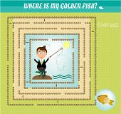 pic of game-fish  - Funny maze - JPG