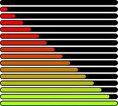 foto of indications  - Horizontal Progress Loading Bars - JPG