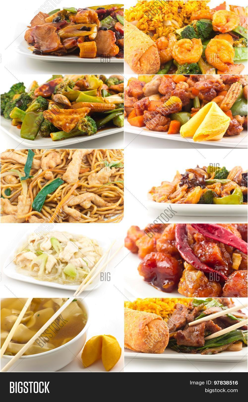 Chinese food collage image photo bigstock for 8 chinese cuisines