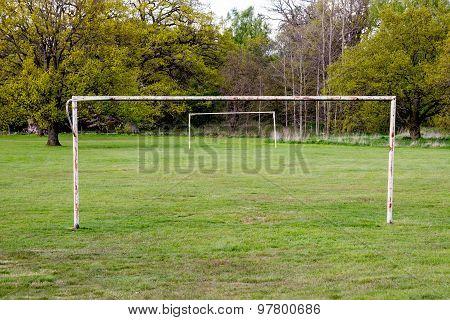 Abandoned Soccer Gate