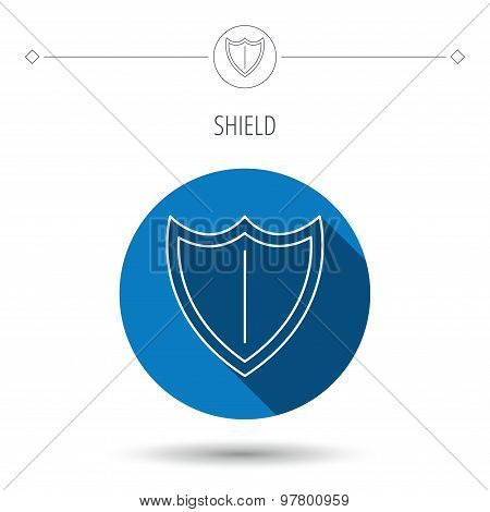 Shield icon. Protection sign.