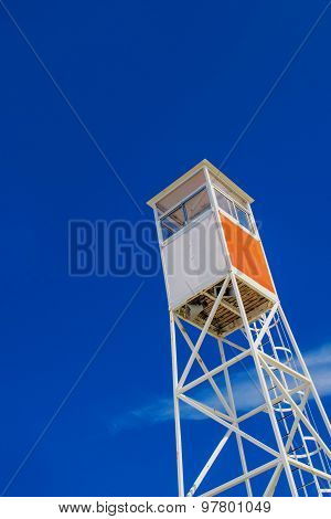 Seaside Coastal Lifeguard Watchtower