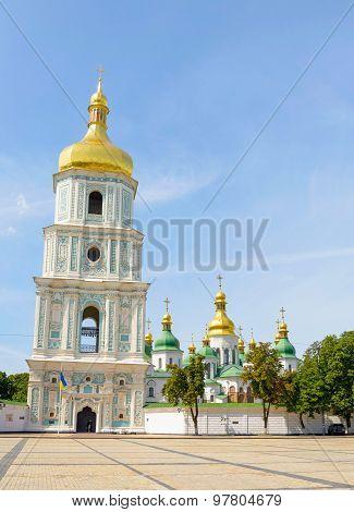 Saint Sophia Church In Kiev