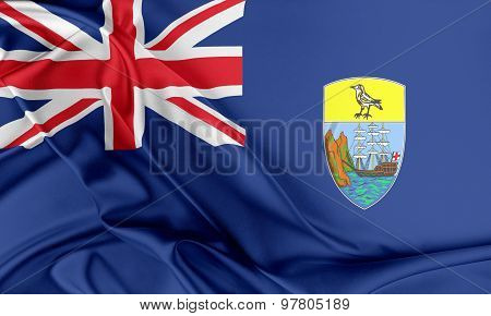 Saint Helena, Ascension and Tristan da Cunha Flag.