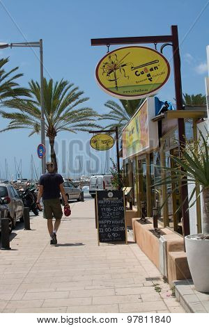 Restaurant Cuban Bar Entrance