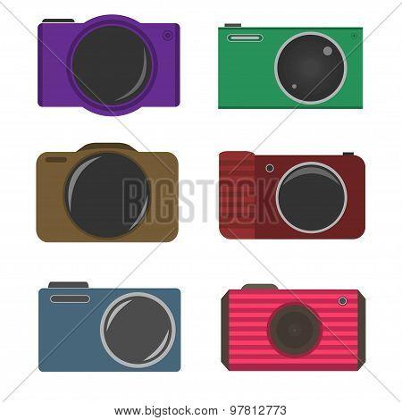 Photocamera icons