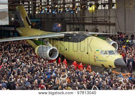 Aircraft Antonov An-178