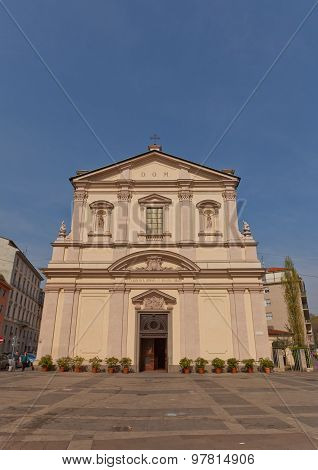 St. Frances Of Rome Church In Milan, Italy