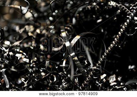 Scrap Pieces Of Metal