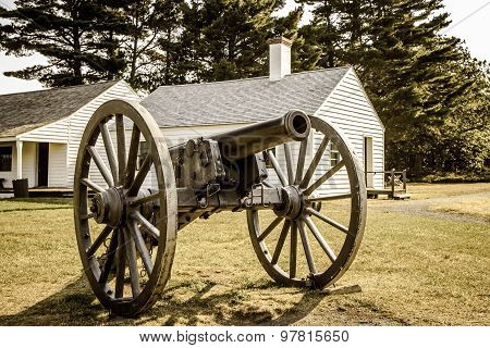 Antique United States Army Cannon