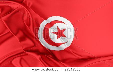Tunisia Flag.