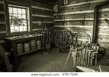 Restored Blacksmiths Workshop