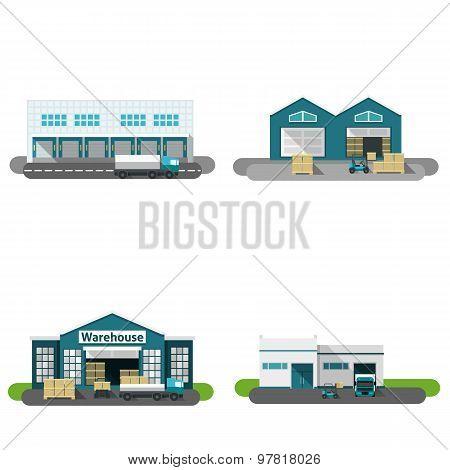Warehouse Building Flat