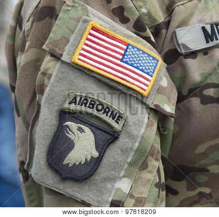 Velcro Patch - 101St Airborne Division
