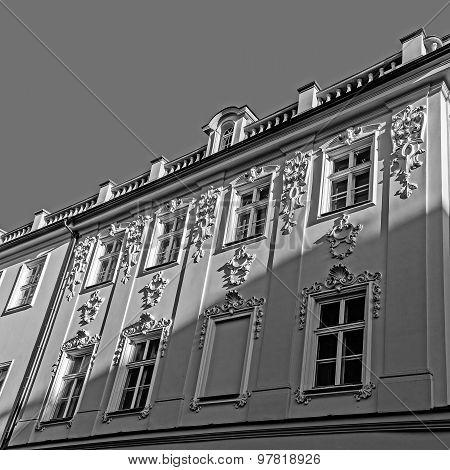 Neo-Rococo facade
