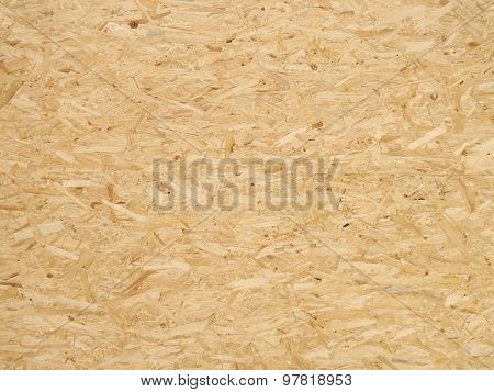 Pressed Wooden Panel Background, Seamless Texture Of Oriented Strand Board - OSB