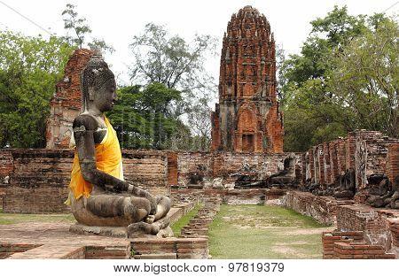 Watpramahathat Ayutthaya Historical Park