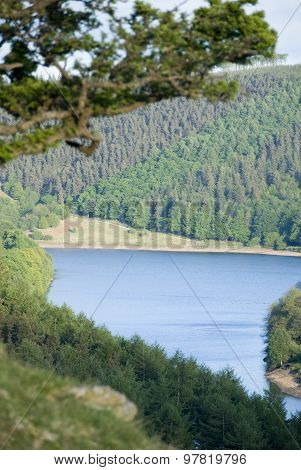 Ladybower Reservoir, Peak District, Derbyshire, UK