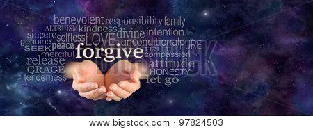 Full of Forgiveness