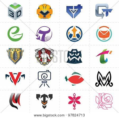 Symbols, Signs, Icons Set