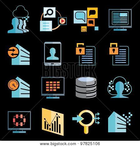 data analytics icons