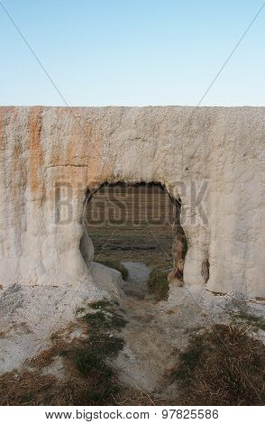 Limestone Formation In Water-works