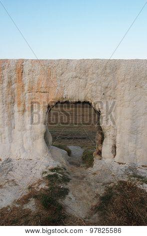 Limestone Formation In Water-works