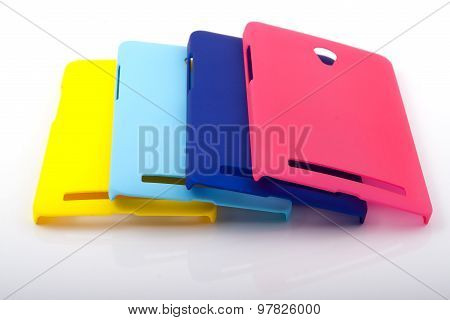 Four Bright Smartphone Back Covers
