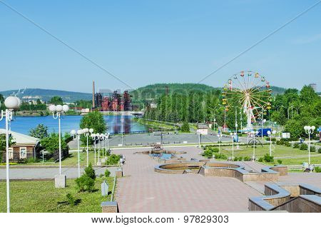 Sights Of The City Of Nizhny Tagil