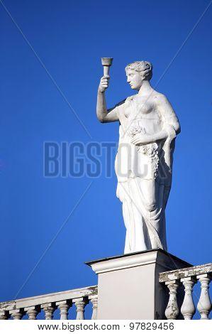 The Monument In Kharkov, Ukraine