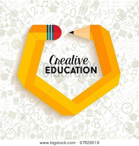 Creative Education Concept Illustration