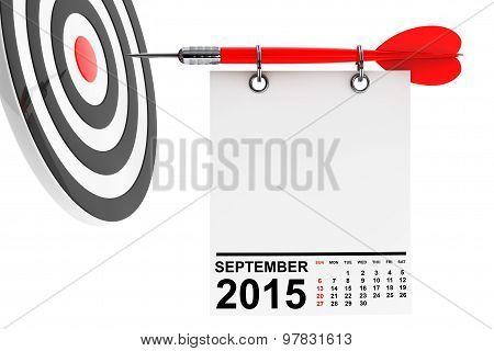 Calendar September 2015 With Target