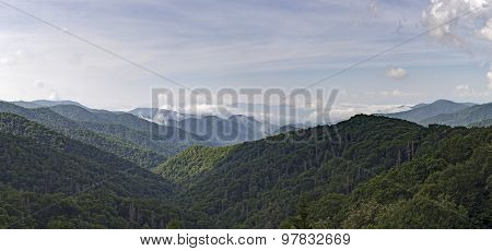 Smoky Mountains Panorama