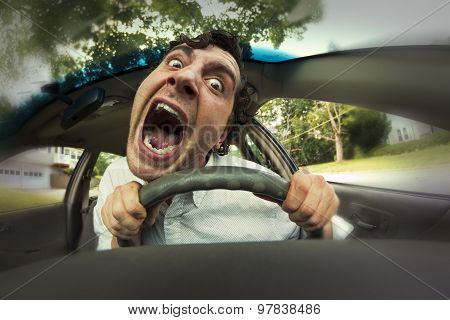 Car Crash Face