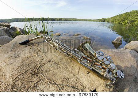 Saxophone Lake Fisheye