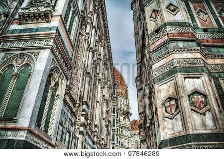 Details Of Santa Maria Del Fiore Cathedral