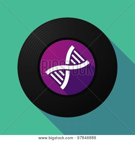 Vinyl Record With A Dna Sign