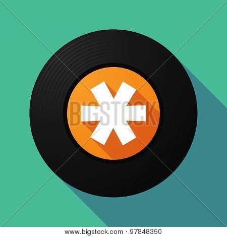 Vinyl Record With An Asterisk