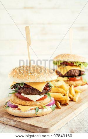 Burger And Fishburger