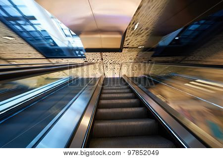 modern bright shopping mall indoor architecture