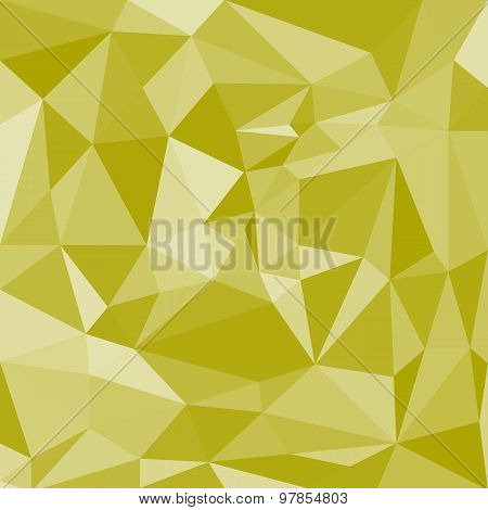 White Abstract Polygonal Background.