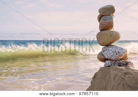 Balancing Rocks Seascape