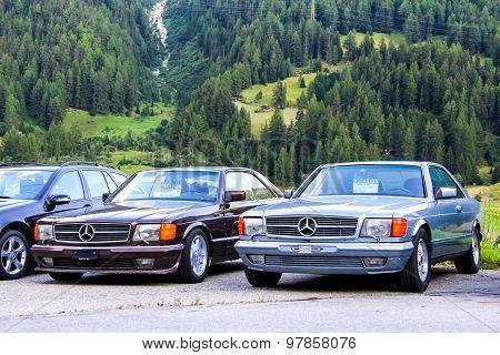 Mercedes Benz W126 Sec-class