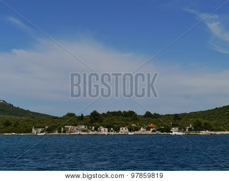 The Croatian Prtljug bay of Ugljan