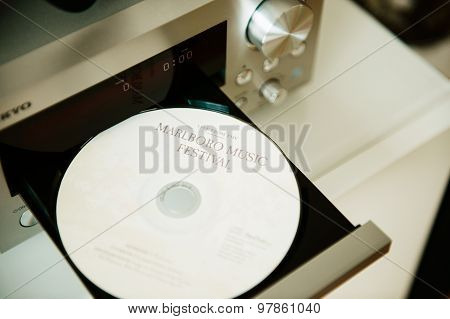 Marlboro Music Festival Cd In Cd Player Tray