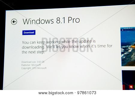 Windows 8.1 Pro Installation Process