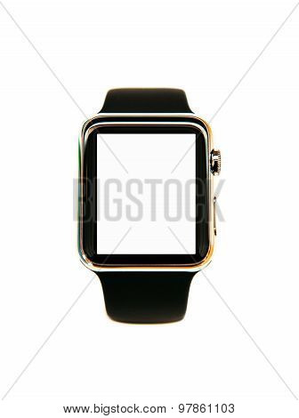 Smart Watch Wearable Device Isolated With White Screen
